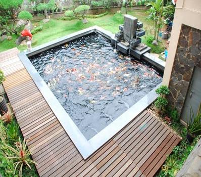 Jasa Dekorasi Pembuatan Kolam Ikan Kota Bandung