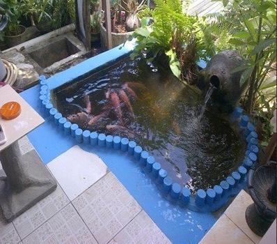 Jasa Dekorasi Pembuatan Kolam Ikan Tukang di Bandung