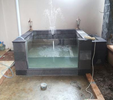 Jasa Dekorasi Pembuatan Kolam Ikan koi Bandung