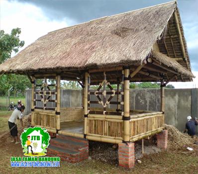 Jasa Pembuatan Gazebo Saung Bandung Cimahi