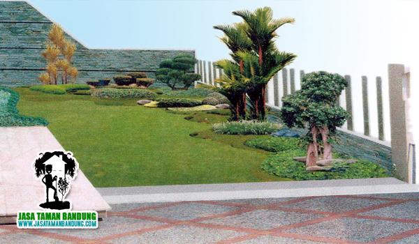 Jasa Taman Landscape Murah di Lembang
