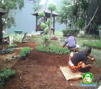 Pembuatan Taman