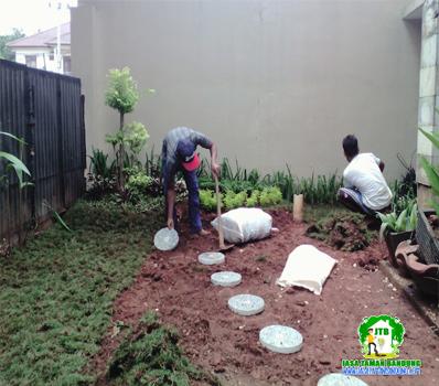 Pembuatan Taman di kota bandung barat