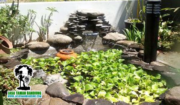 tukang taman dekorasi murah di bandung kolam ikan koi