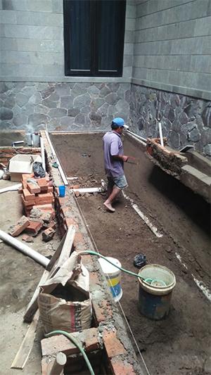 jasa pembuatan kolam ikan di bandung, tukang buat kolam ikan taman bandung, jasa taman bandung