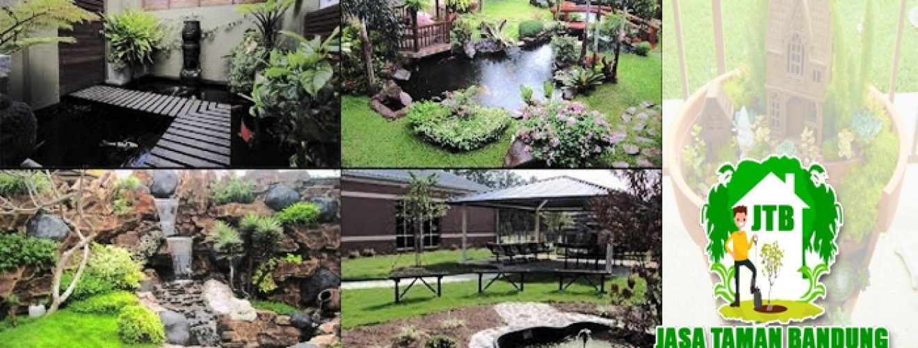 Harga Murah Jasa Tukang Pembuatan Taman Profesional Minimalis di Kota Bandung