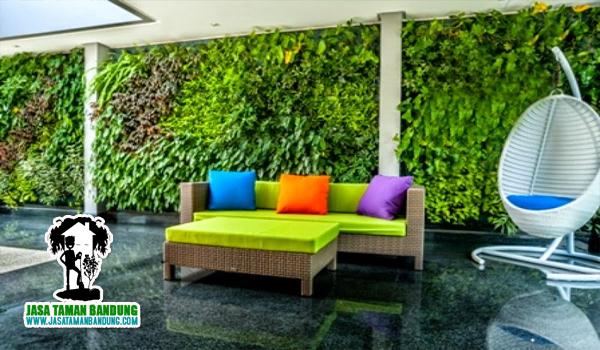 Jasa Dekorasi Taman Vertikal Bandung Cimahi Murah